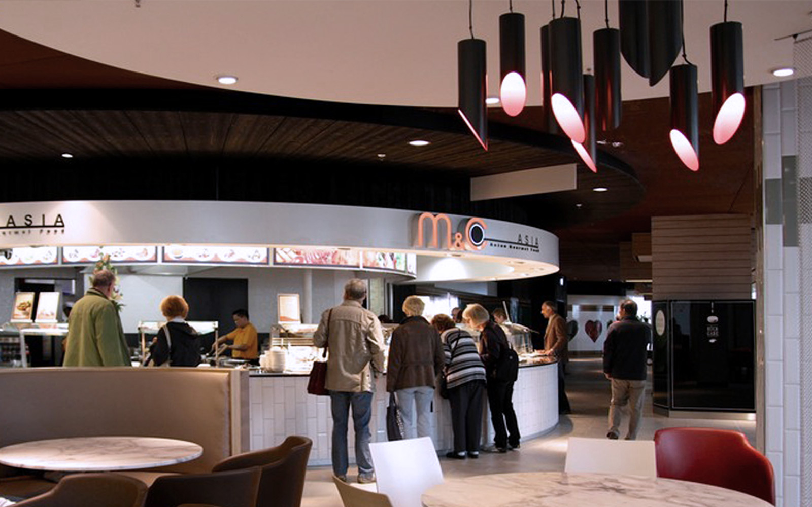 foodcourt food retail outlets