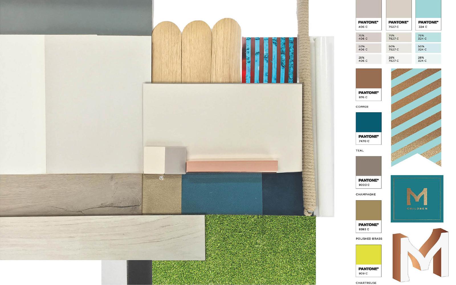 store design materials