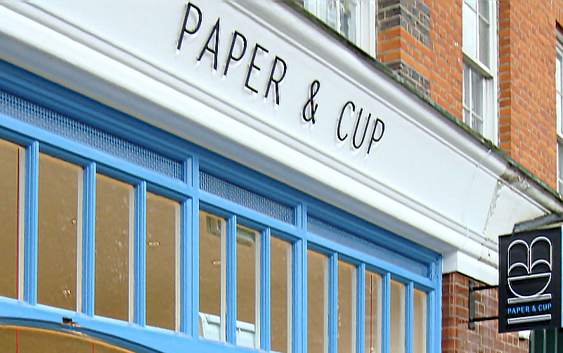 cafe facade