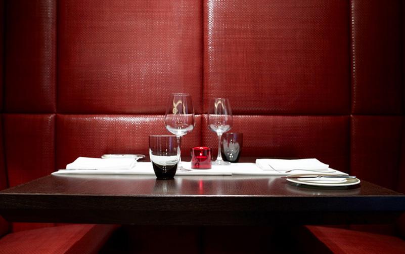restaurant design seating niches