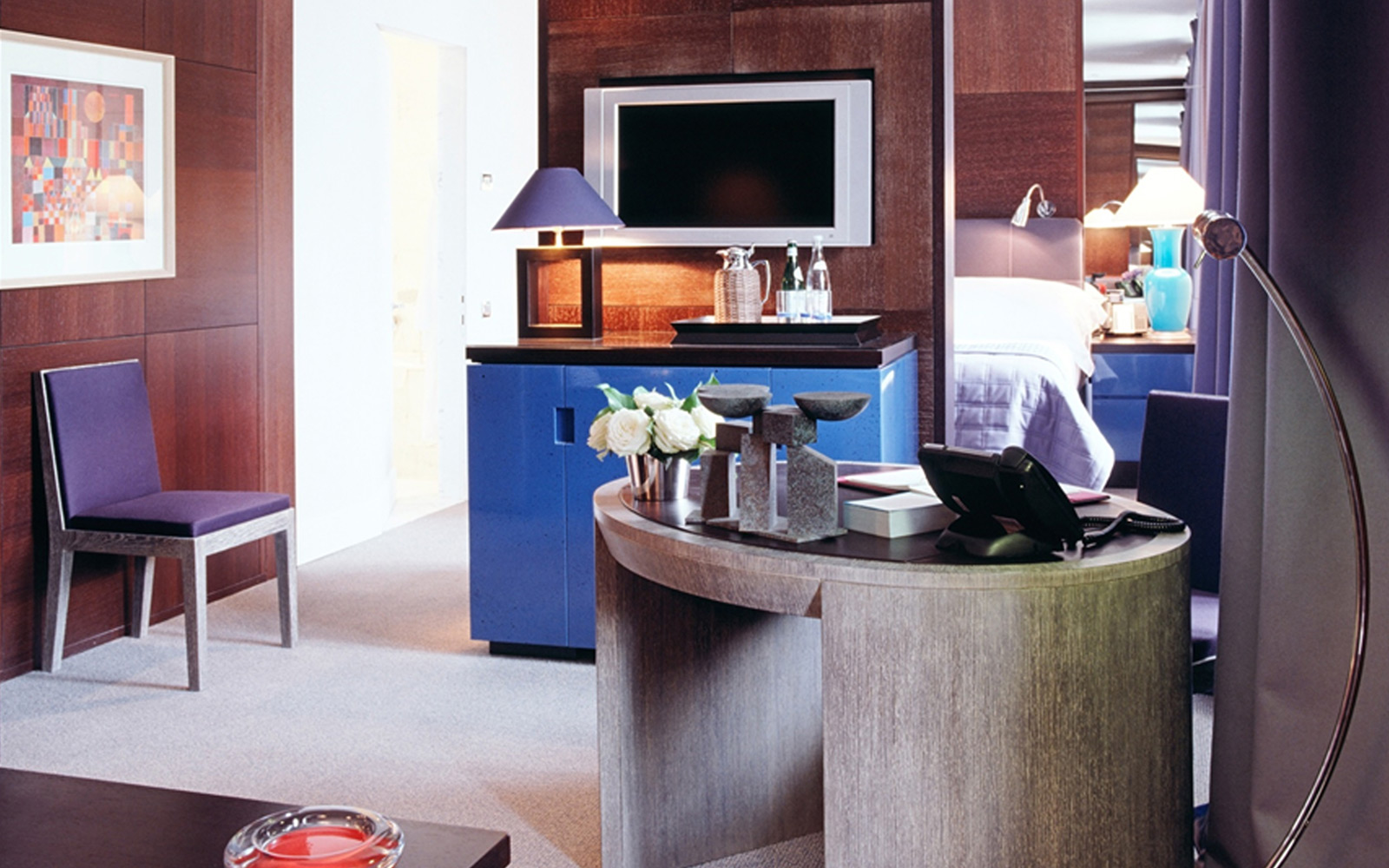 hotel design, suite casegoods