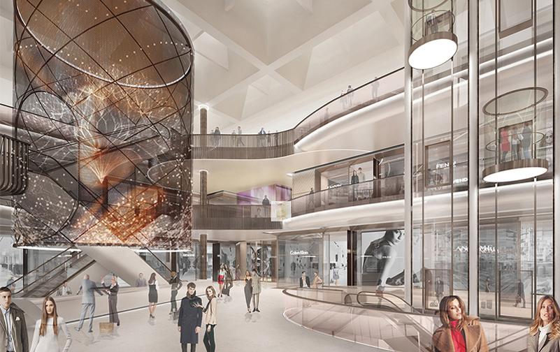 shopping centre atrium 2