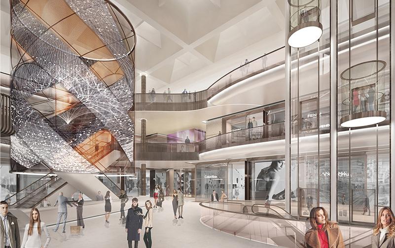 shopping centre atrium 3