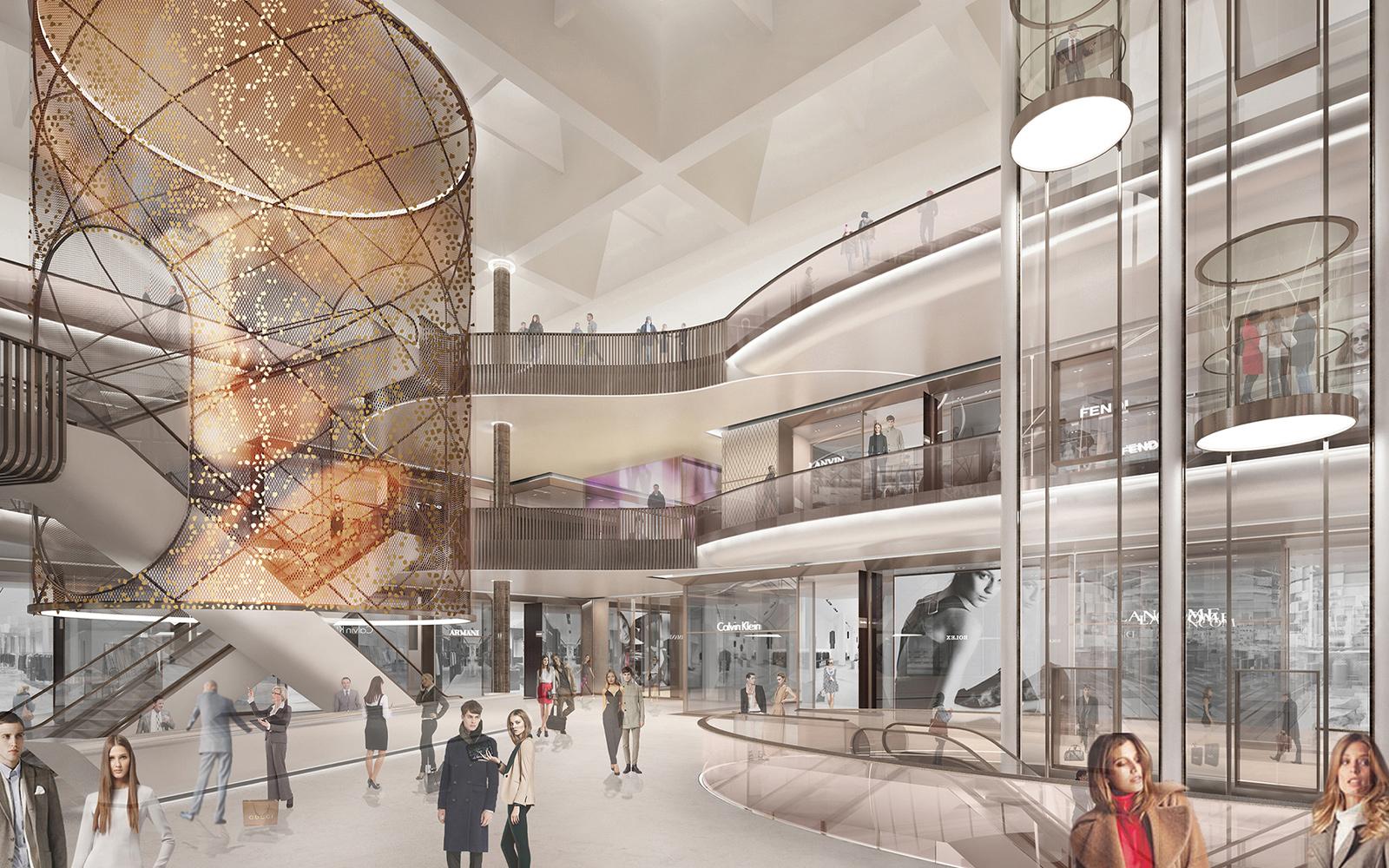 shopping centre atrium 1