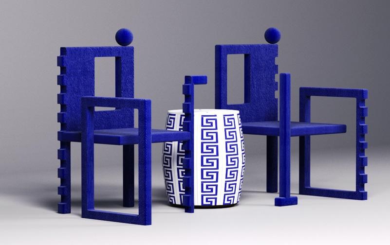 FF+E furniture sculptures