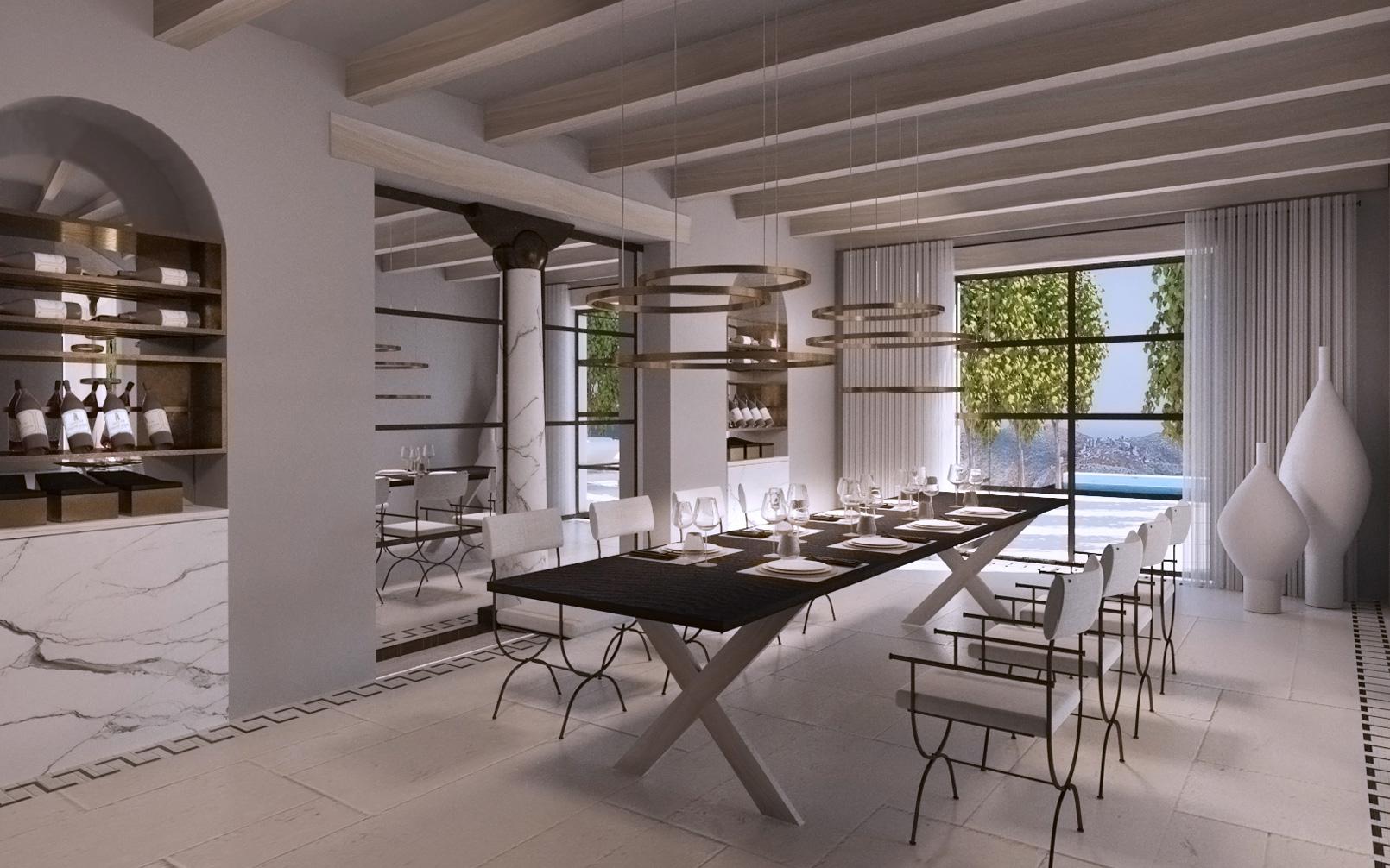 villa mani - speculative design entertaining