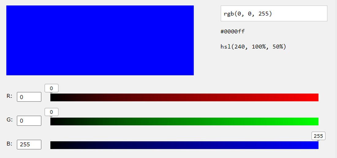 RGB Blue