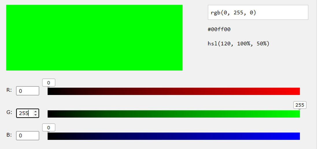 RGB Greeb