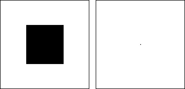 successive black square experiment