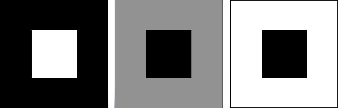 colour contrast of light and darki grey scale tonal range